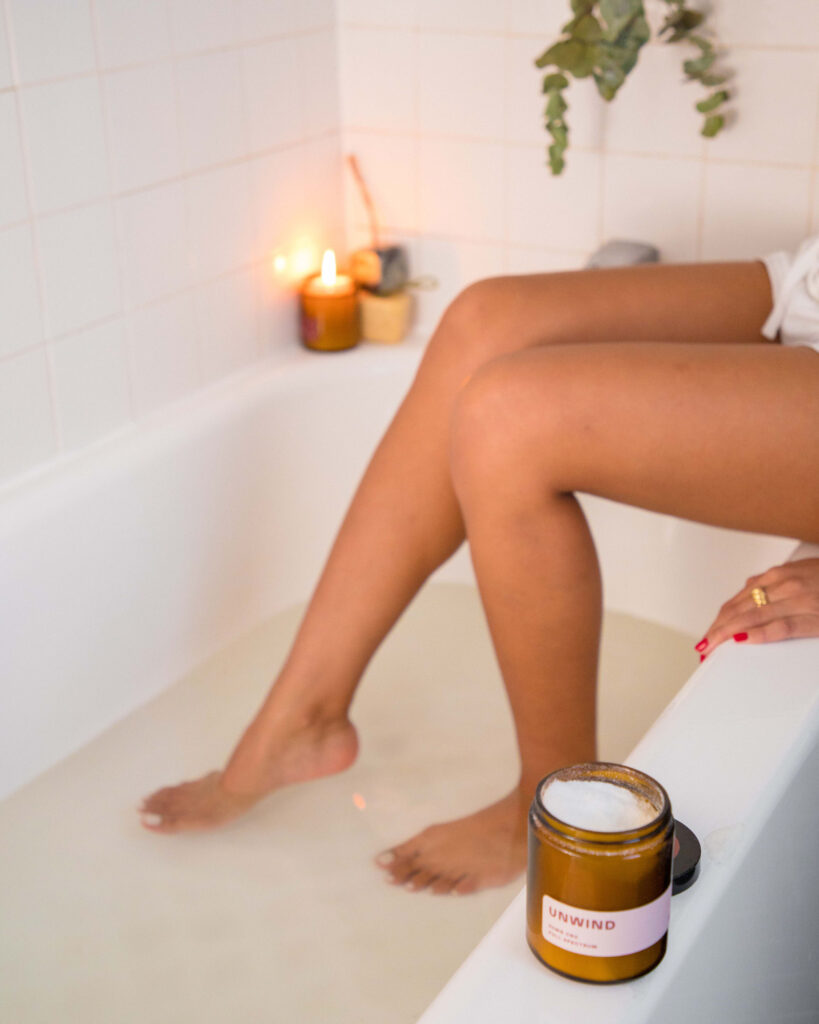 3 Different Bath Situations Inspired By Our CBD Bath Soaks